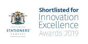 Stationers Company Shortlisted Innovation Excellence Awards 2019
