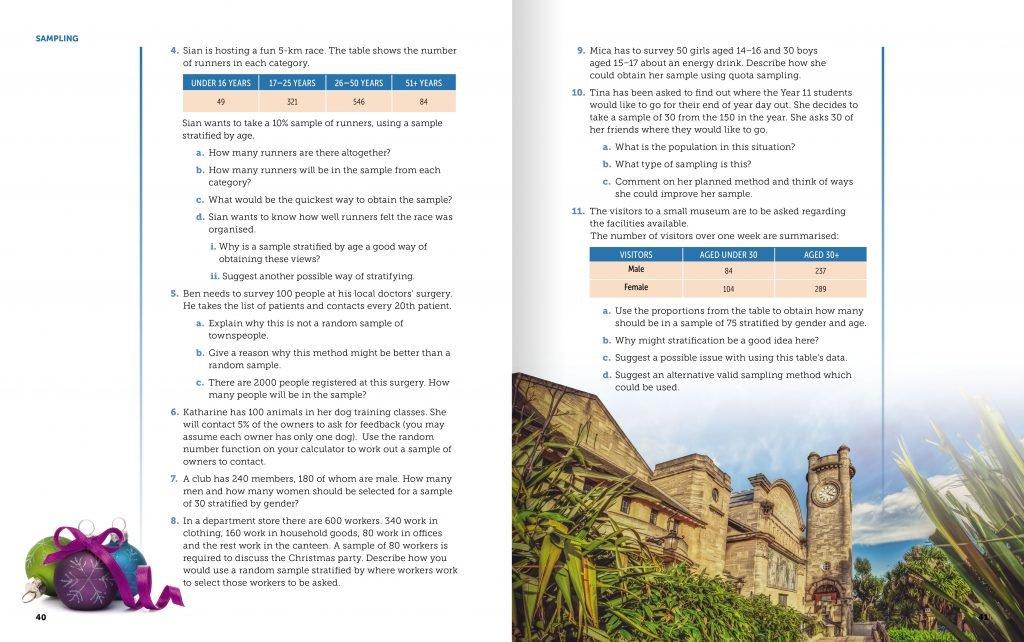 Illuminate GCSE textbook spread